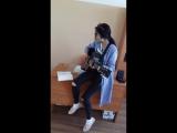Казакша гитара Куандык Рахым Сенин кулкиннен аумайды.Айнура.mp4