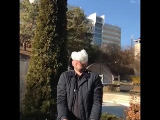 Кисловодск умеет удивлять. Снег и солнце - день чудесный!