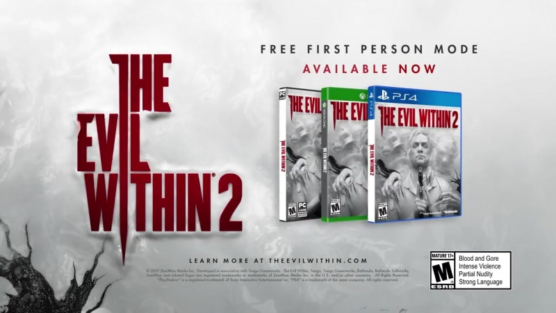 The Evil Within 2- First-Person Mode Trailer