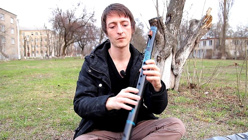 Native american flute E Key Made of bamboo Пимак Ми Бамбук