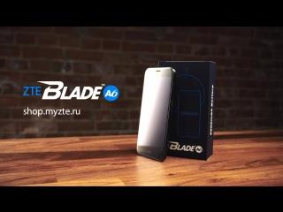 Распаковка смартфона ZTE Blade A6