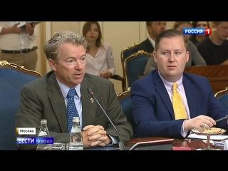 Долой санкционную истерию: американские сенаторы приехали в Москву