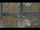 Наглядный процесс монтажа фасадной системы MAGfasad 010Brickline