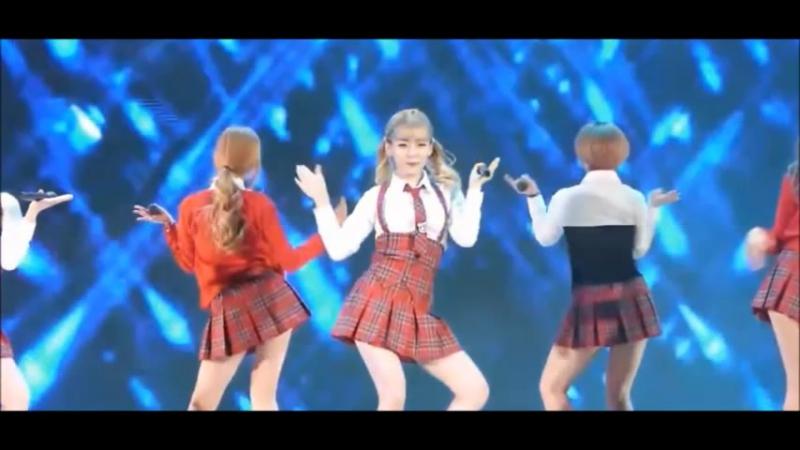 Кореяночки на сцене - Глюкоза - Танцуй Россия и плач Европа, а у меня самая, самая, самая красивая попа...