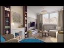 Дизайн однокомнатной квартиры 43 кв. метров от студии Guinea