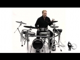 Roland TD-50KV V-Drums Electronic Drum Set Sound Sample and Demo