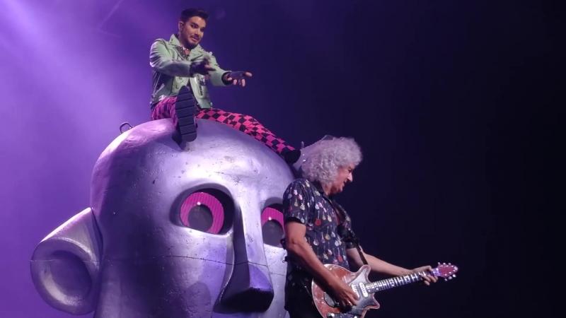 Queen Adam Lambert - Killer Queen, speach, Dont Stop Me Now, Bicycle Race - Hamburg, 20_06_2018 (1080p)