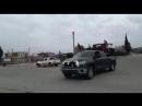 Сирийские бойцы въезжают в Африн