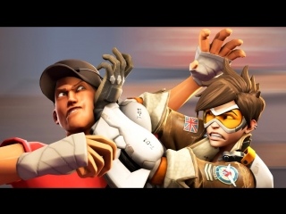 Overwatch vs. TF2 [SFM]