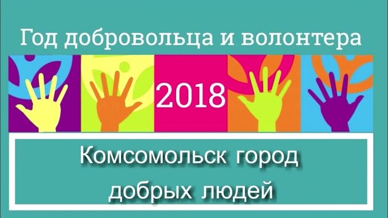 Год волонтёра и добровольца 2018