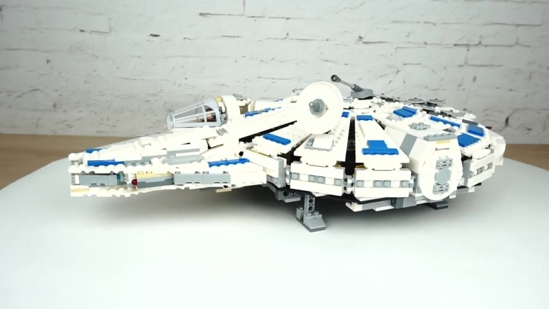 [Brick Ministry | VOICE] [Обзор] LEGO 75212 Star Wars ● Сокол Тысячелетия на Дуге Кесселя