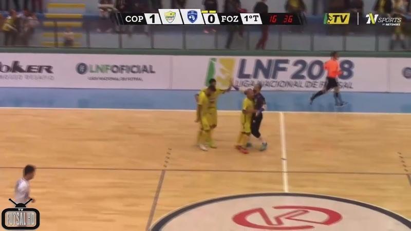 Jogo Completo Copagril x Foz Cataratas - 14ª Semana Liga Nacional de Futsal 2018 (03/08/2018)