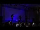 Любимая работа.Концерт.группа Flying plane с песней собственного сочиненияАлый снег