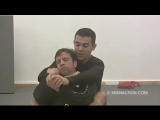 Marcelo Garcia - Rear Naked Choke when the opponent defends