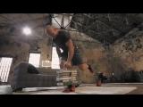 Домашние тренировки с Денисом Семенихиным. Упражнения для спины (тяга пачки книг