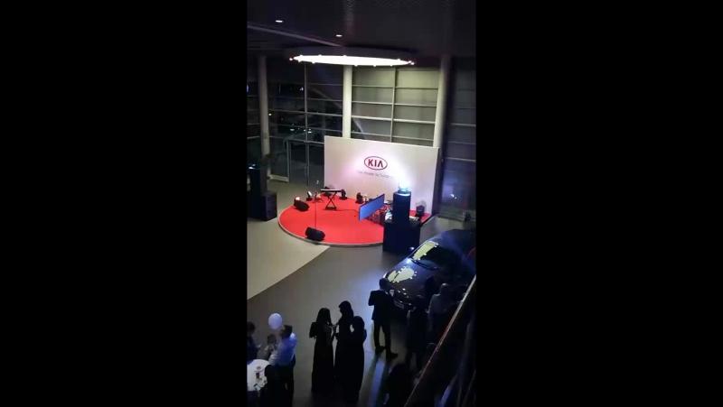 Открытие автосалона KIA