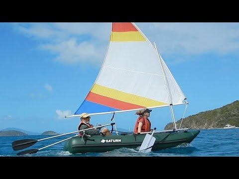 Nanocat Inflatable Sailboat