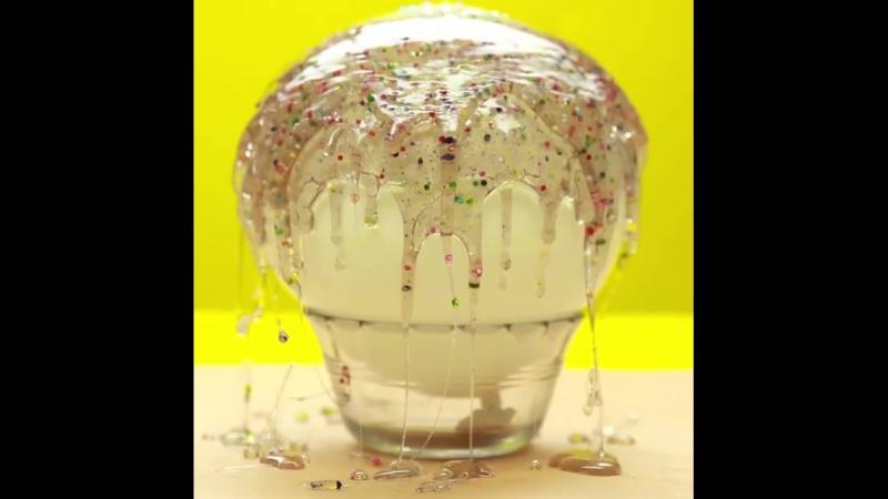 Шикарная идея съедобной тарелочки для подачи десертов!