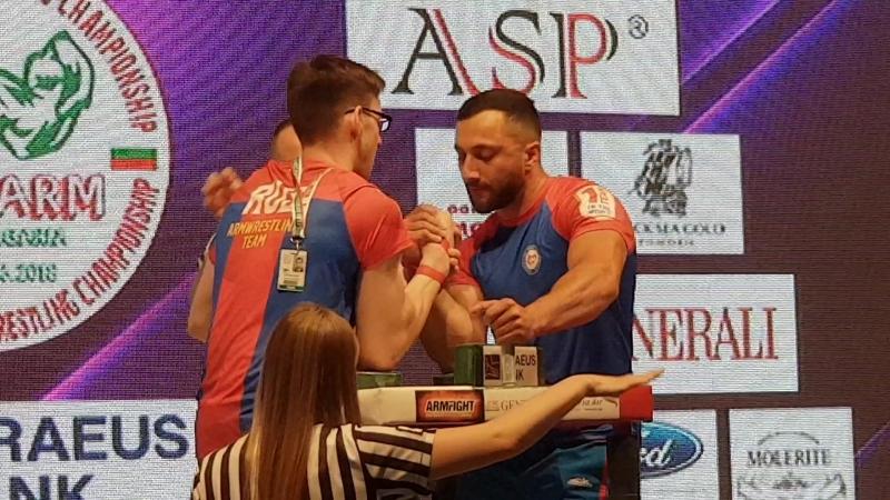 Таутиев - Золоев - чемпионат Европы 2018, финал, второй поединок