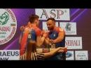 Таутиев Золоев чемпионат Европы 2018 финал второй поединок