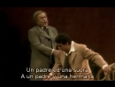 Cornell MacNeil - Plácido Domigo - Dunque invano trovato de La Traviata de Verdi subtítulos español e italiano