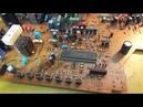 Ремонт телевизора из 90 х Nec FS 2181SKB Understanding the Horizontal circuits TV Reparaturen