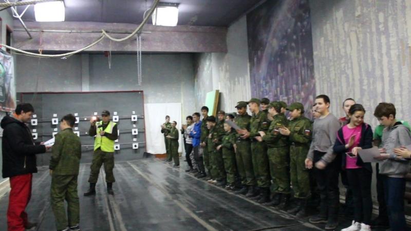 Торжественное награждение по итогам Армейских игр.