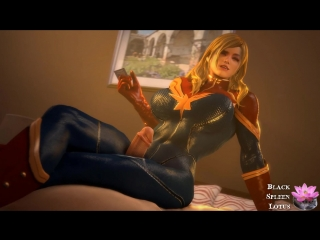 Marvel comics captain marvel sfm 3d porn (18+)