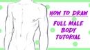How to Draw: Male Manga Body Tutorial