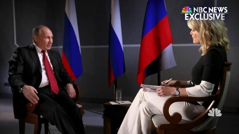Großes Interview mit Wladimir Putin für US-Sender NBC (1. März 2018)