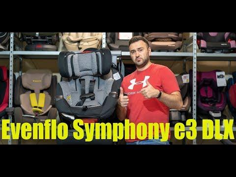 Evenflo Symphony e3 DLX автокресло с рождения до 10 лет