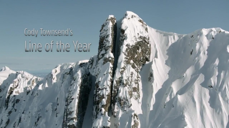 Best Ski Line of 2014 - Cody Townsends Epic Chute