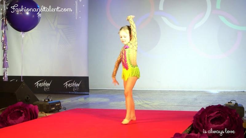 1vice mini miss Фролова Варя(творческий номер)Fashiontalent