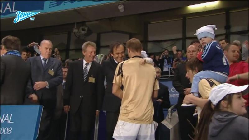 Эксклюзив «Зенит-ТВ»- архивные кадры из раздевалки победителей Кубка УЕФА