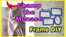 Crazy Dog Running Around The House DIY of Another WAY TO USE photo Frames