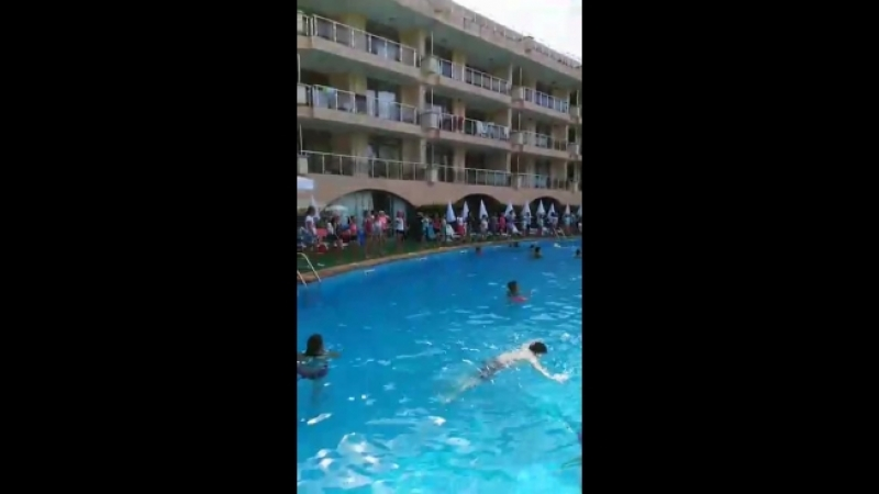 танцы на бассейне Болгария 2018