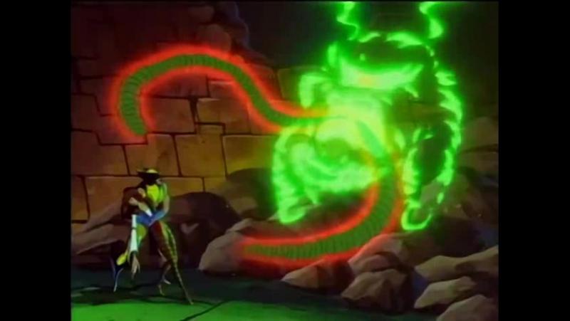 Люди Икс / X-Men S03E28 - Out of the Past [Part 2] (Гостья из прошлого 2)