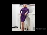 Тренд сезона 2018 - сиреневые и фиолетовые платья.💜