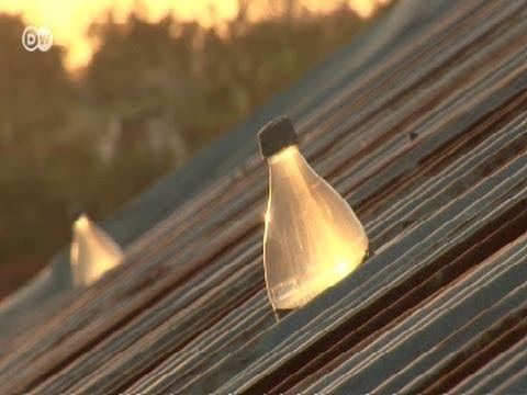 Philippinen: Solarlampen aus Plastikflaschen   Global 3000
