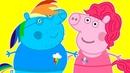 Мультики. Свинка Пеппа Май Литл Пони Игрушки Киндер сюрприз. Мультики для детей. se01e07