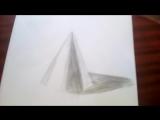 Новое видео на моём канале. Как нарисовать конус. Учимся рисовать тени на конусе.