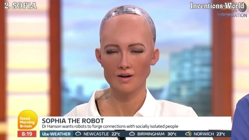 5 Wonderful Humanoid Robots With Emotions Artificial Intelligence - Best Robots 23