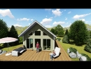 Проект каркасного дома 6х12 Квебек