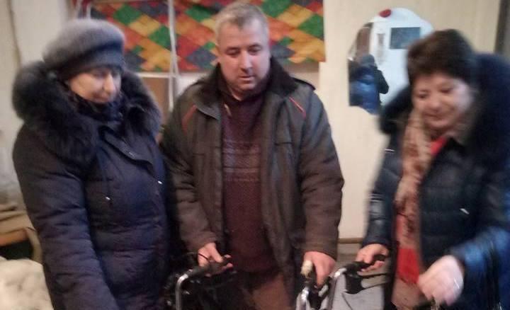 Допомога Андрушівському територіальному центру