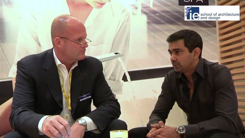 Interview Sanjay Puri with Christopher Barger at WAF 2012
