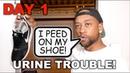 Islamicize Me Day 1: Urine Trouble!