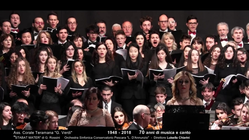 STABAT MATER G. Rossini - ass. corale G_ Verdi 2018