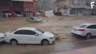 Затопление в районе Мамак, город Анкара, Турция | Flooding in Mamak, Ankara, Turkey