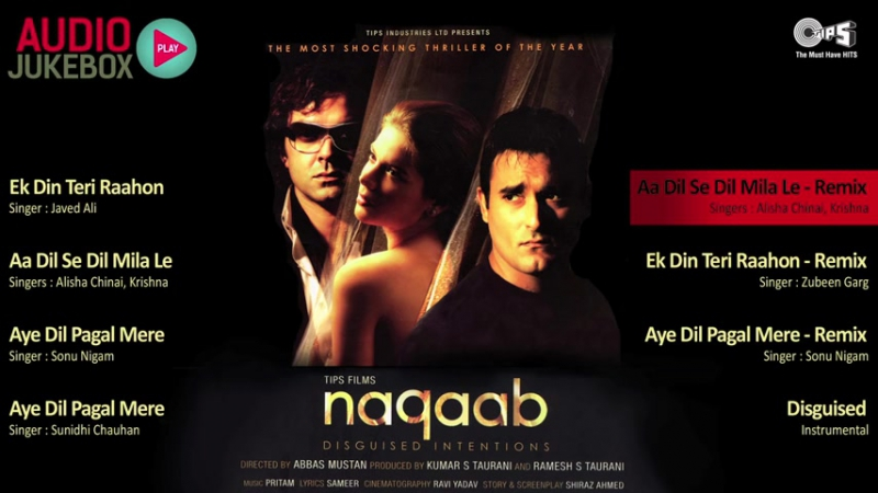 Naqaab 2007 Audio Songs Jukebox Bobby Deol, Akshaye Khanna, Urvashi Sharma, Pritam