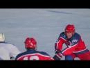 Товарищеский матч среди ветеранов ХК Сурок ХК Дружба в рамках розыгрыша кубка Омега Металл